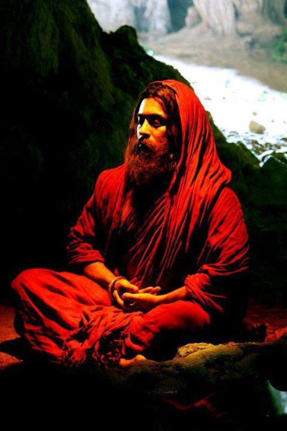 Bodhidharma Meditating